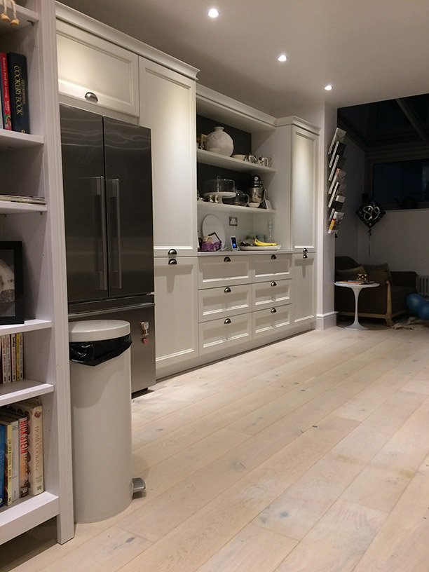 u shaped kitchen north london