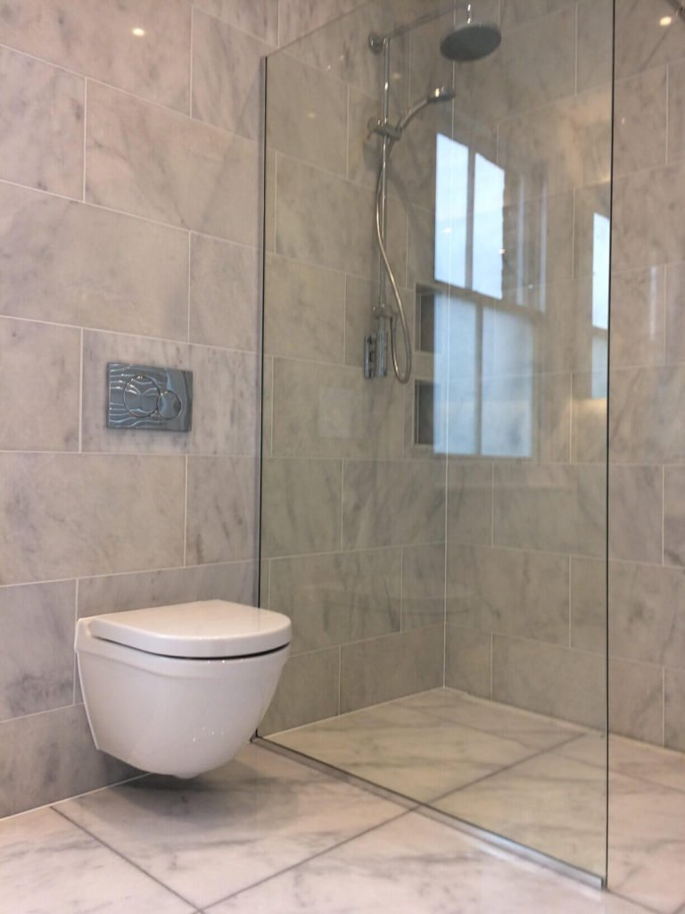 bathroom refit in north london
